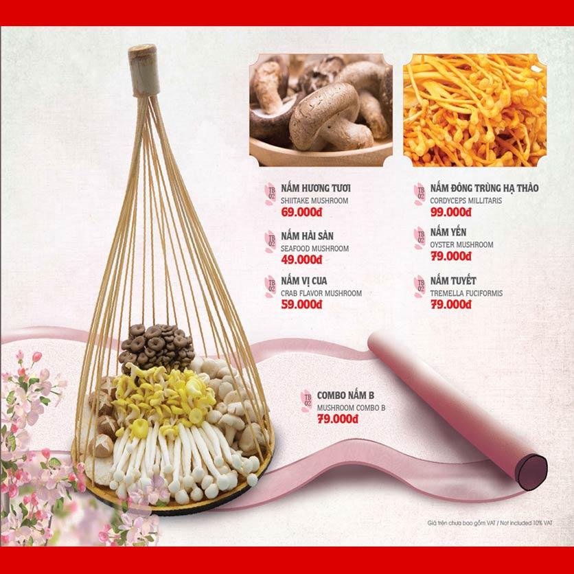 Menu Dao Hua – Hoàng Hoa Thám 26