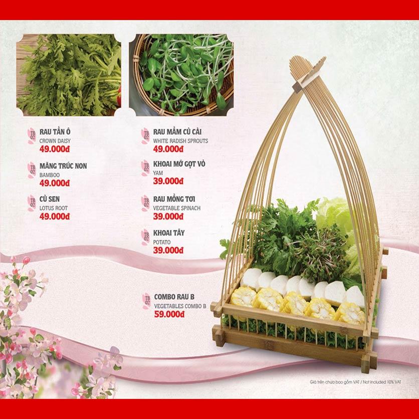 Menu Dao Hua – Hoàng Hoa Thám 28
