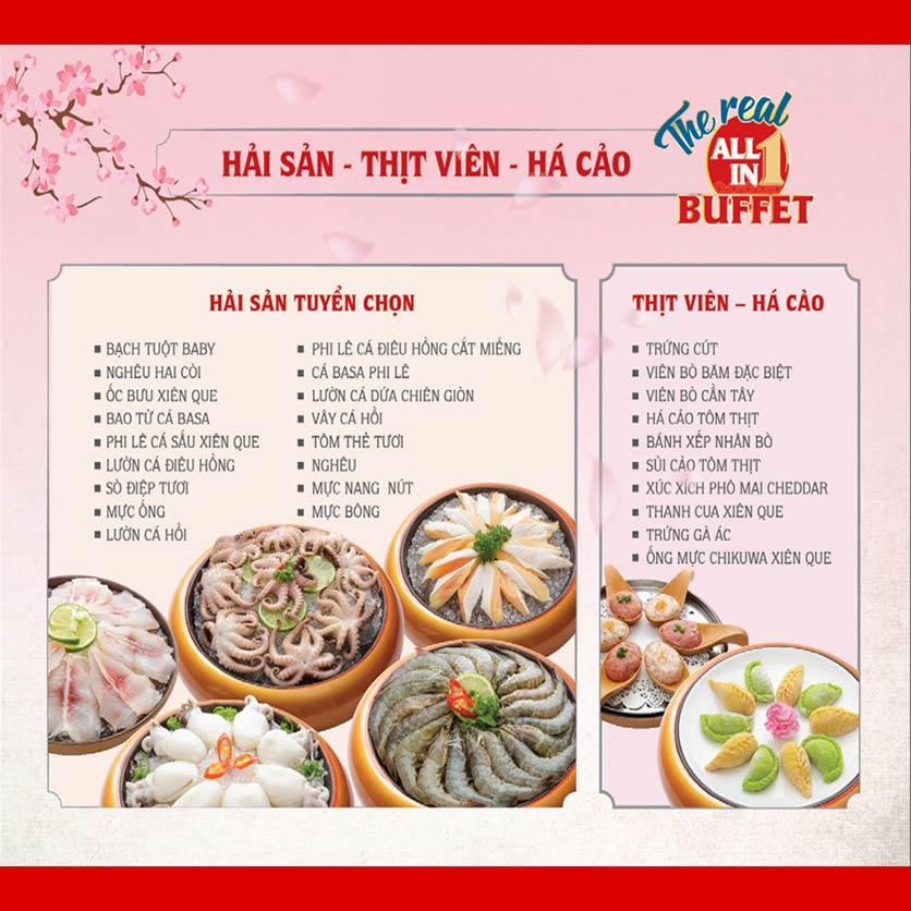 Menu Dao Hua – Hoàng Hoa Thám 3