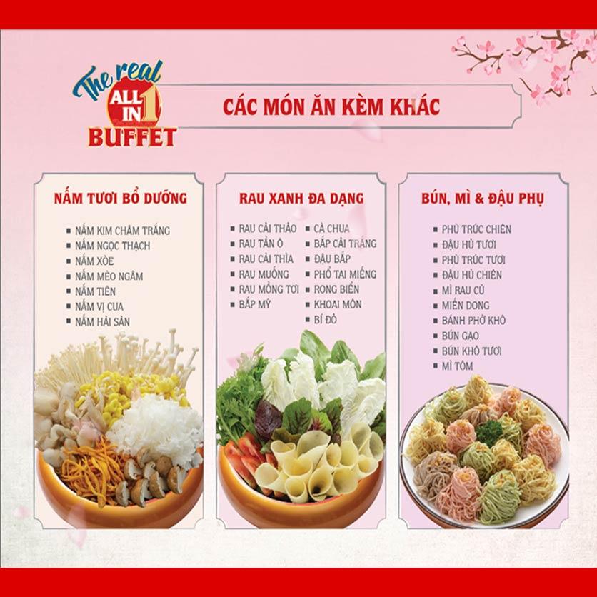 Menu Dao Hua – Hoàng Hoa Thám 4