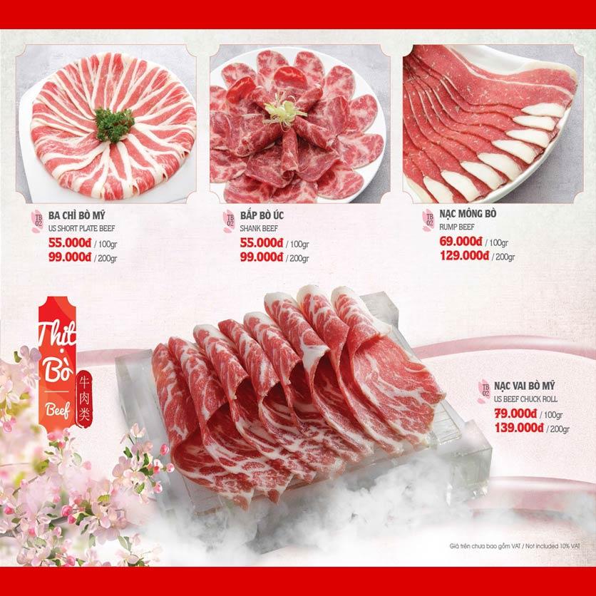 Menu Dao Hua – Hoàng Hoa Thám 6