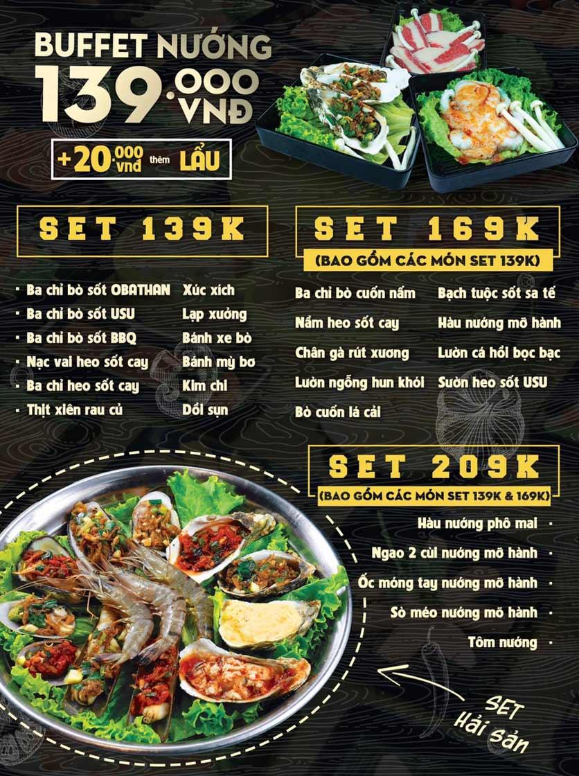 Menu Deli 4B BBQ & Hotpot - Thượng Đình    1