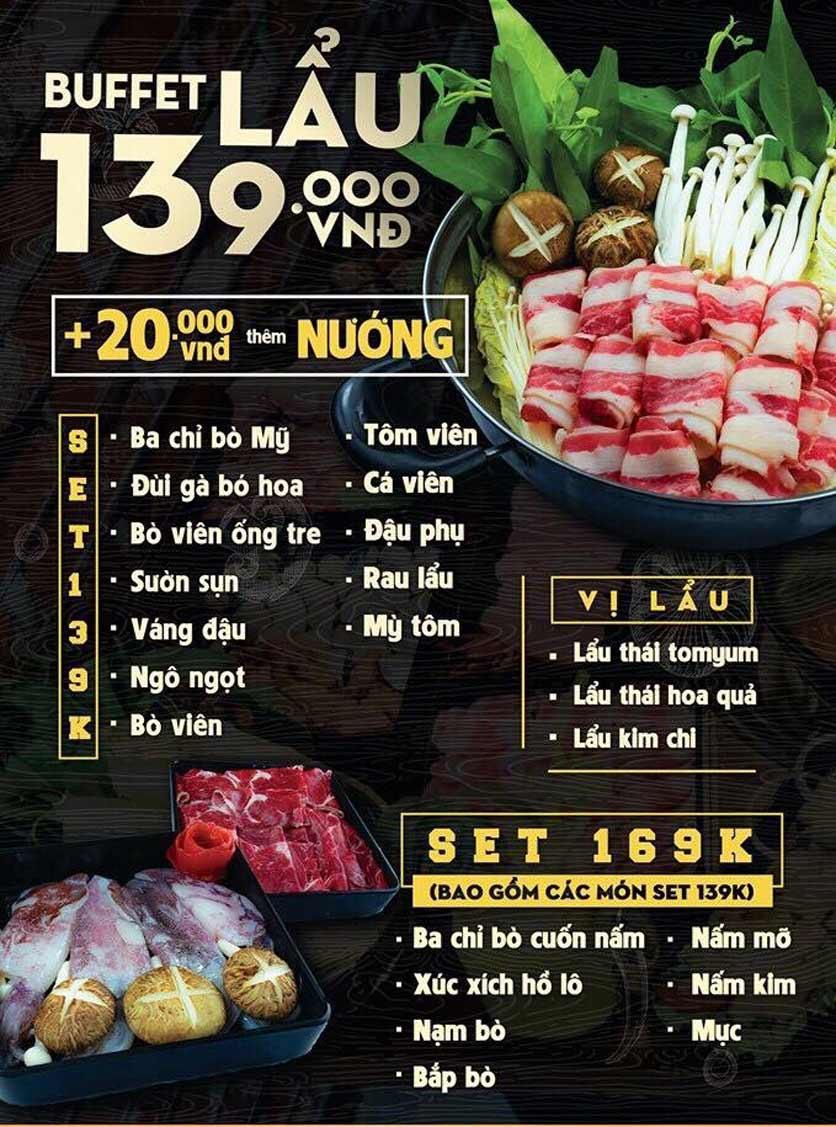 Menu Deli 4B BBQ & Hotpot - Thượng Đình    2