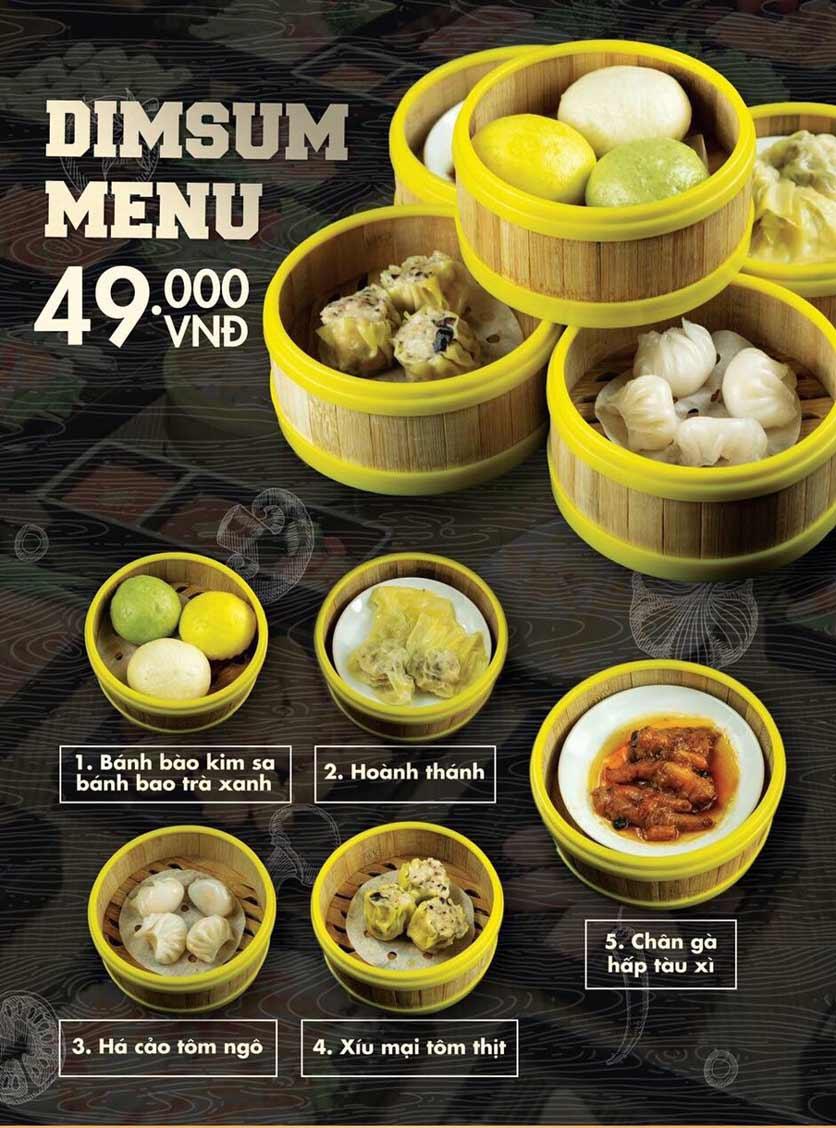 Menu Deli 4B BBQ & Hotpot - Thượng Đình    4