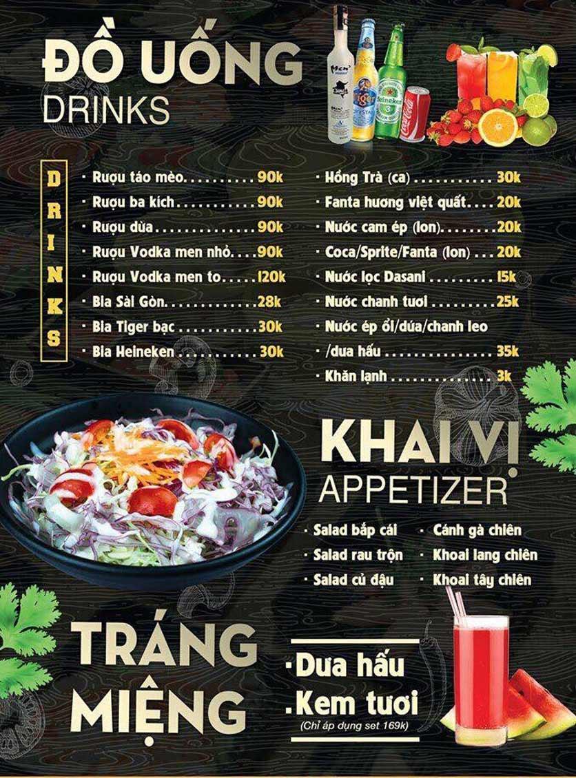 Menu Deli 4B BBQ & Hotpot - Thượng Đình    6