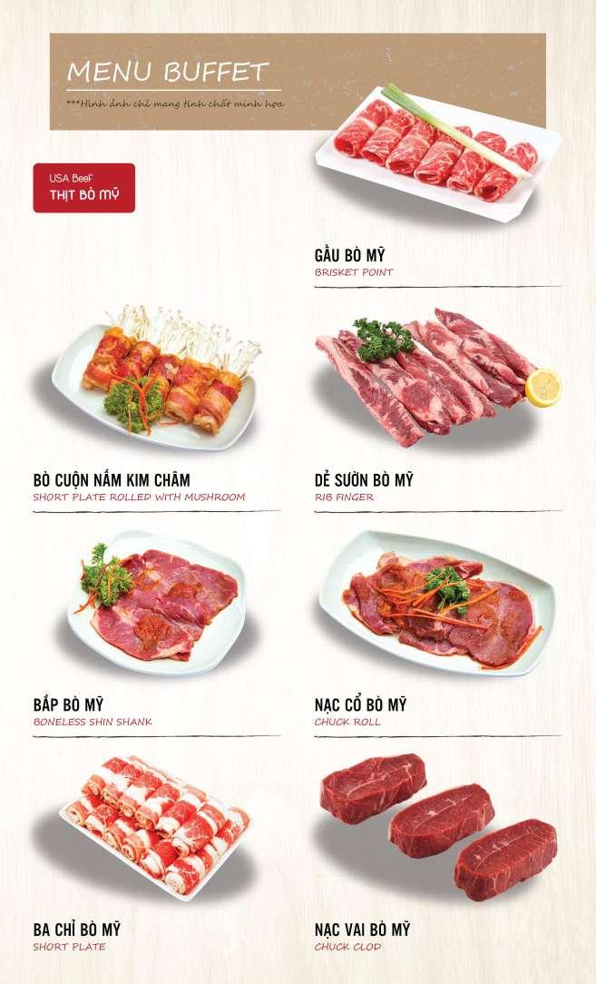 Menu DK BBQ & Hotpot Buffet - Hồng Hà  4
