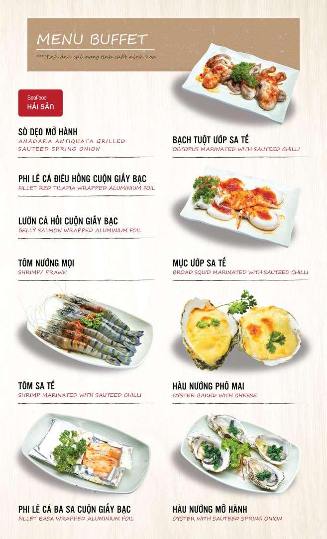 Menu DK BBQ & Hotpot Buffet - Hồng Hà  5