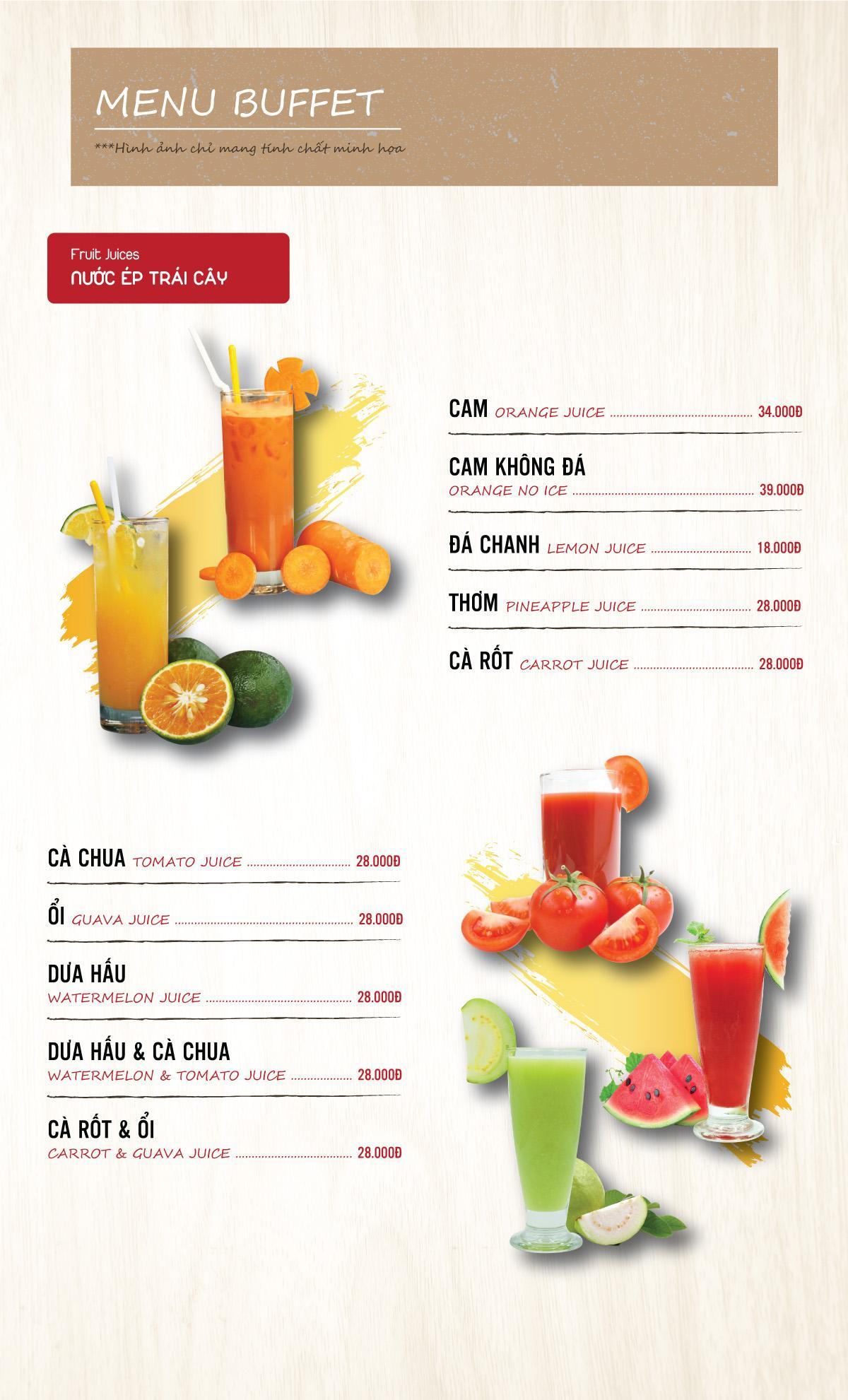 Menu DK BBQ & Hotpot Buffet - Hồng Hà  7