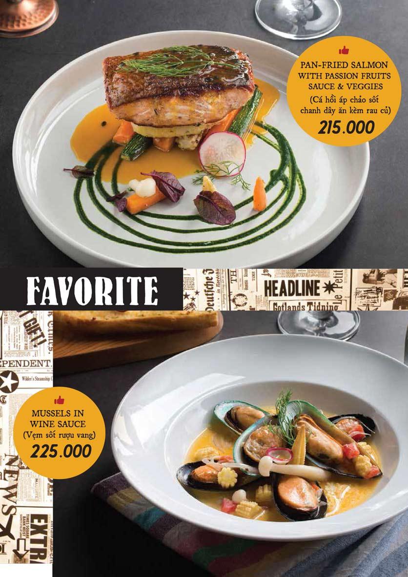 Menu Downtown Steakhouse - Hoa Mai 14