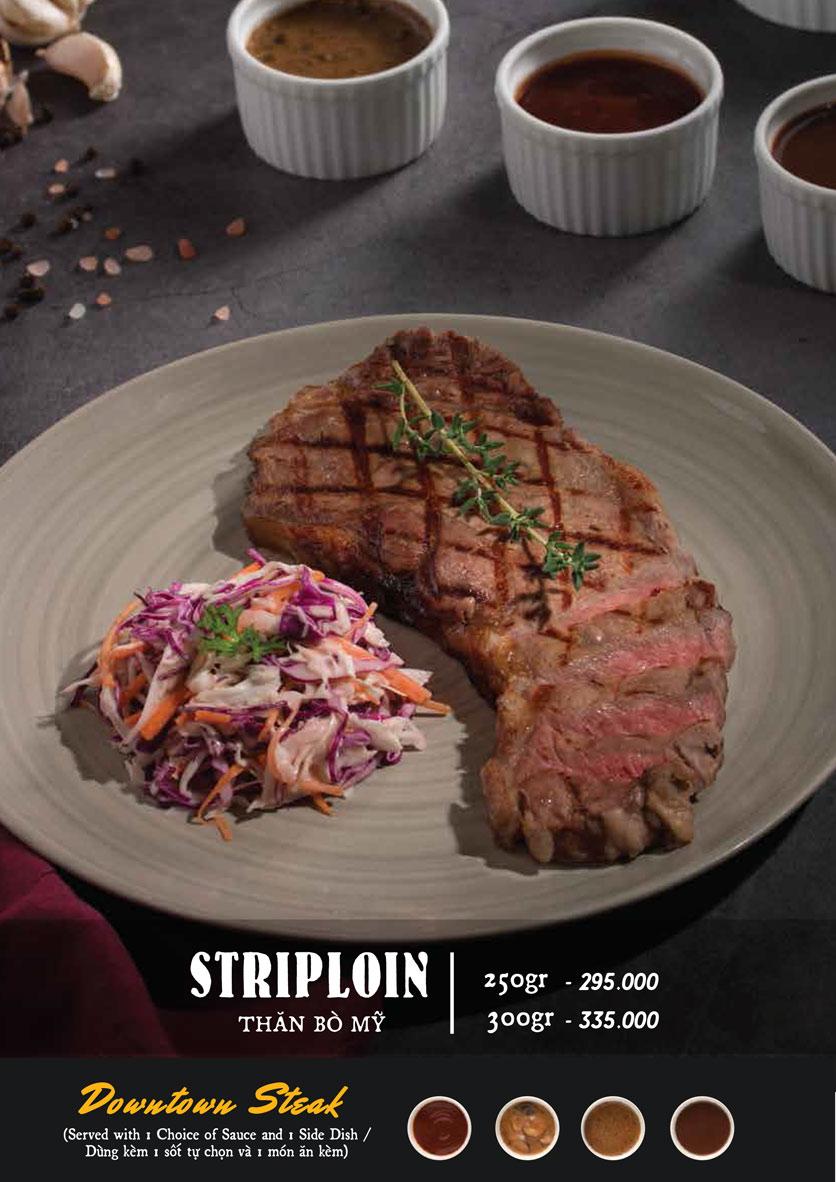 Menu Downtown Steakhouse - Hoa Mai 5