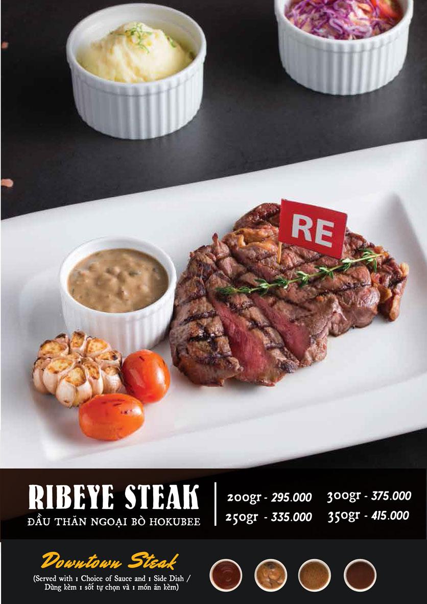 Menu Downtown Steakhouse - Hoa Mai 6