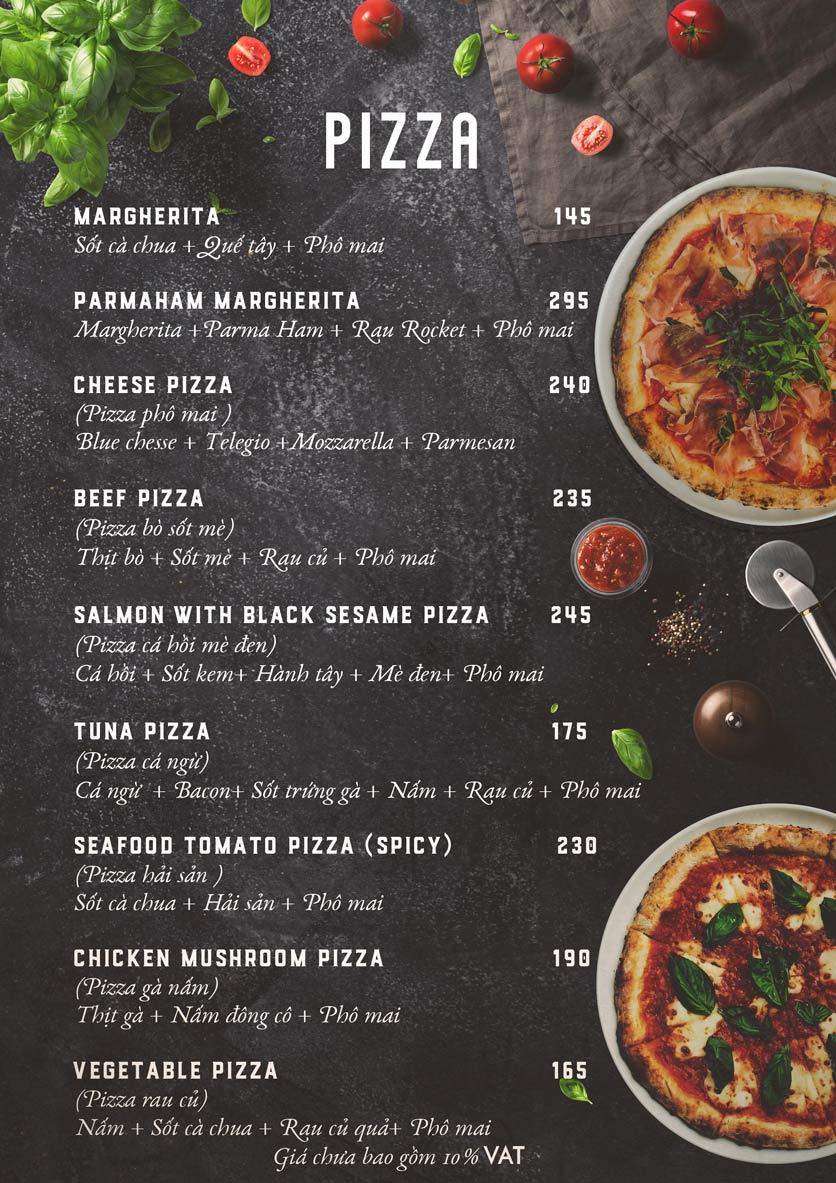 Menu Emoji Pizza - Hoàng Dư Khương  5