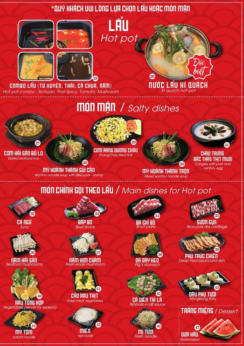 Menu Nhà hàng Dimsum & Lẩu Trung Hoa - FengHuang – Linh Đàm 2