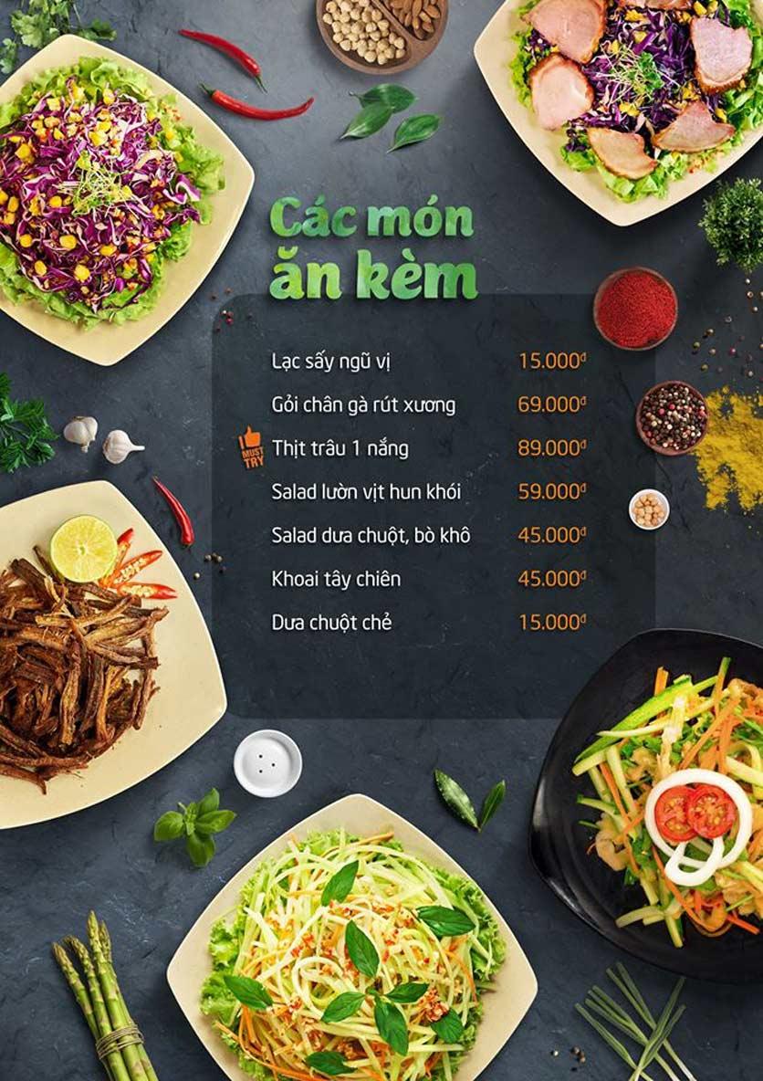 Menu Food Center - Bà Triệu  4