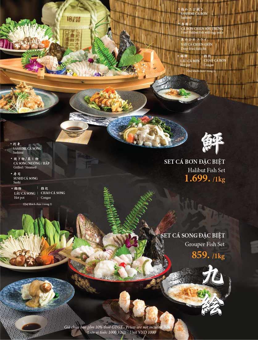 Menu Fujibin - Lê Văn Lương 9