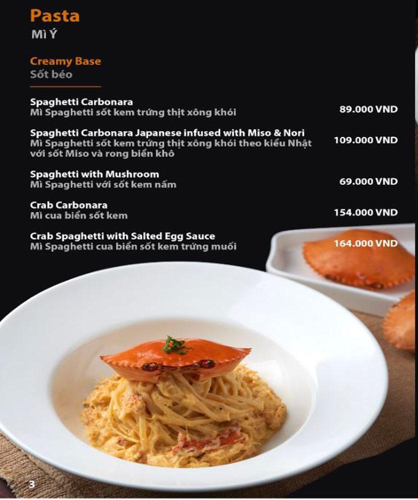 Menu FUMO - Steak & Pasta - Hai Bà Trưng   3
