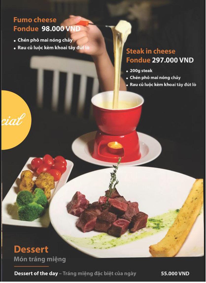 Menu FUMO - Steak & Pasta - Hai Bà Trưng   6