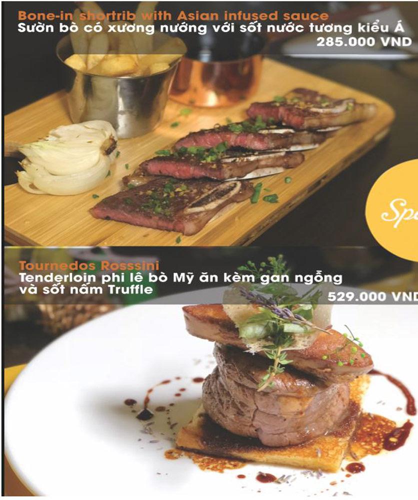 Menu FUMO - Steak & Pasta - Hai Bà Trưng   7