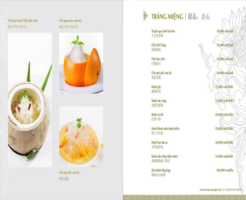 Menu Hải Cảng - Nguyễn Chí Thanh 25