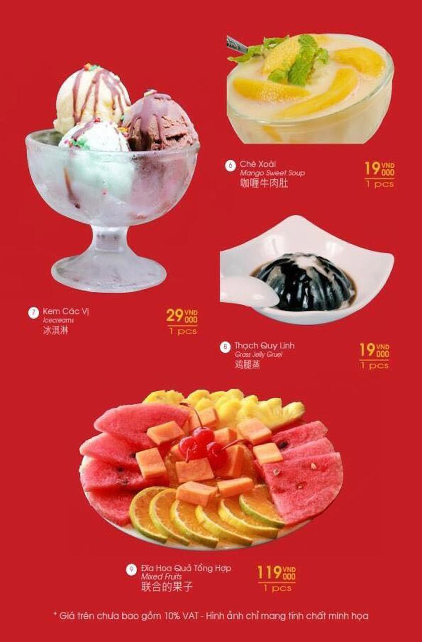 Menu Hailong Yi HongKong Hotpot - Lò Đúc 32