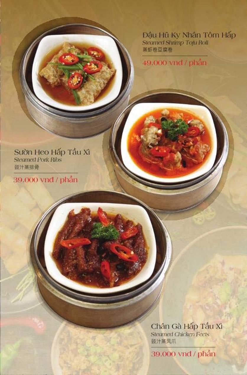 Menu Hailong Yi HongKong Hotpot - Lò Đúc 33