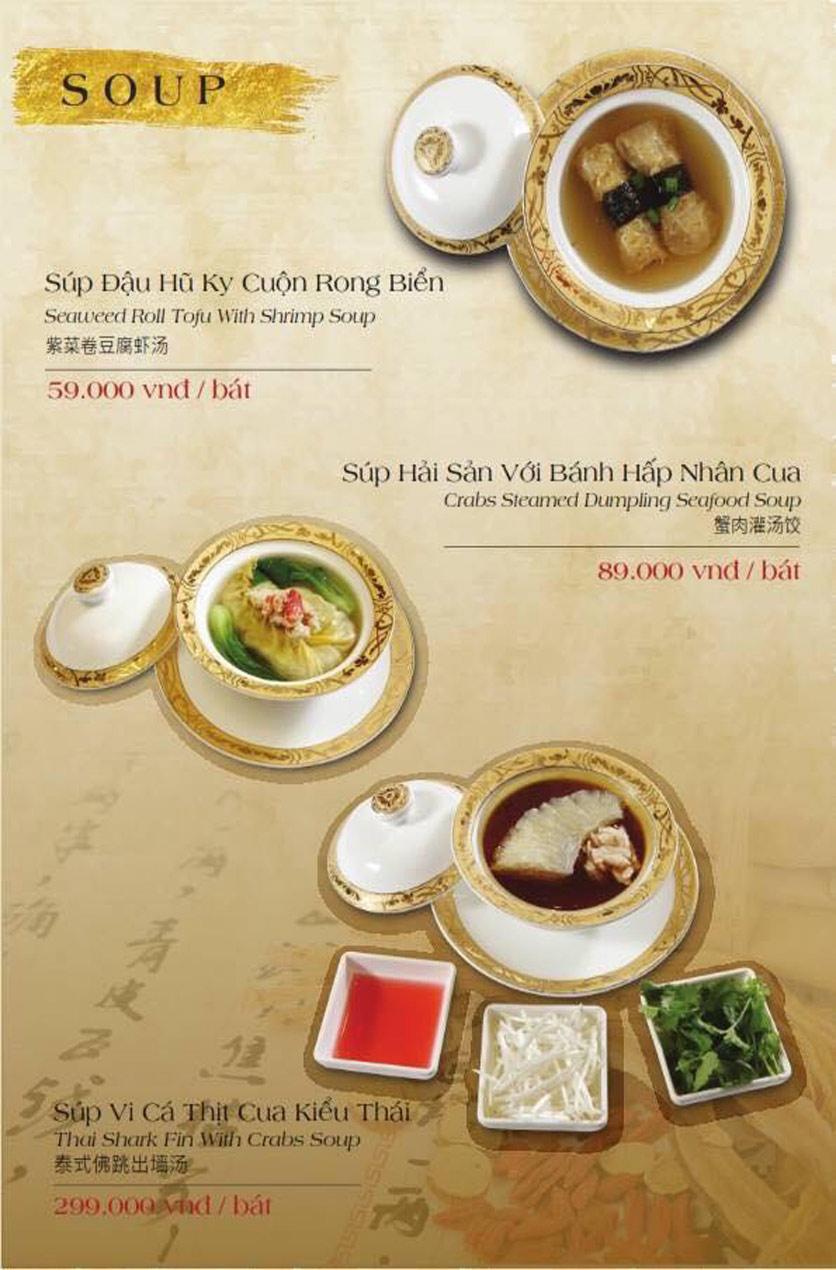Menu Hailong Yi HongKong Hotpot - Lò Đúc 39
