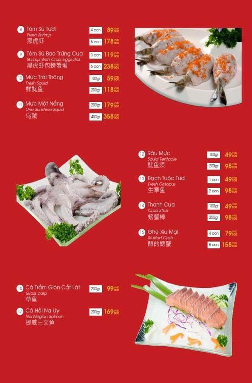 Menu Hailong Yi HongKong Hotpot - Lò Đúc 40