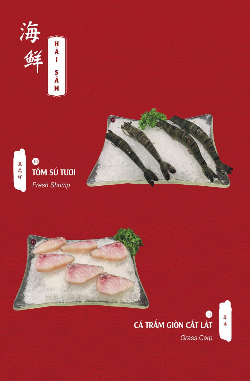 Menu Hailong Yi HongKong Hotpot - Lò Đúc 11