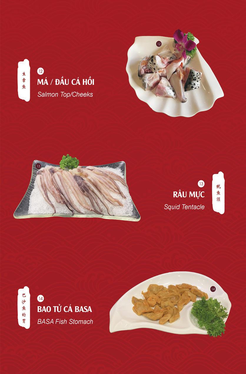 Menu Hailong Yi HongKong Hotpot - Lò Đúc 12