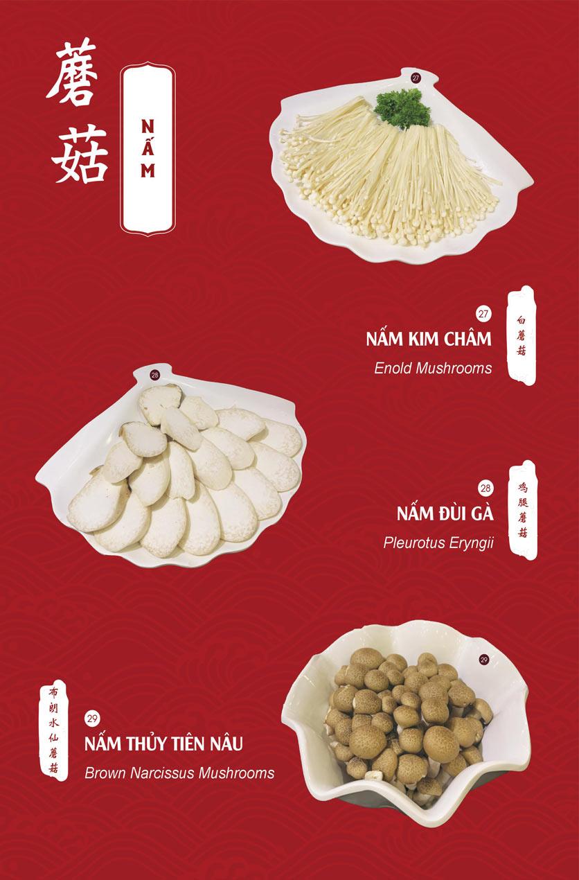 Menu Hailong Yi HongKong Hotpot - Lò Đúc 16