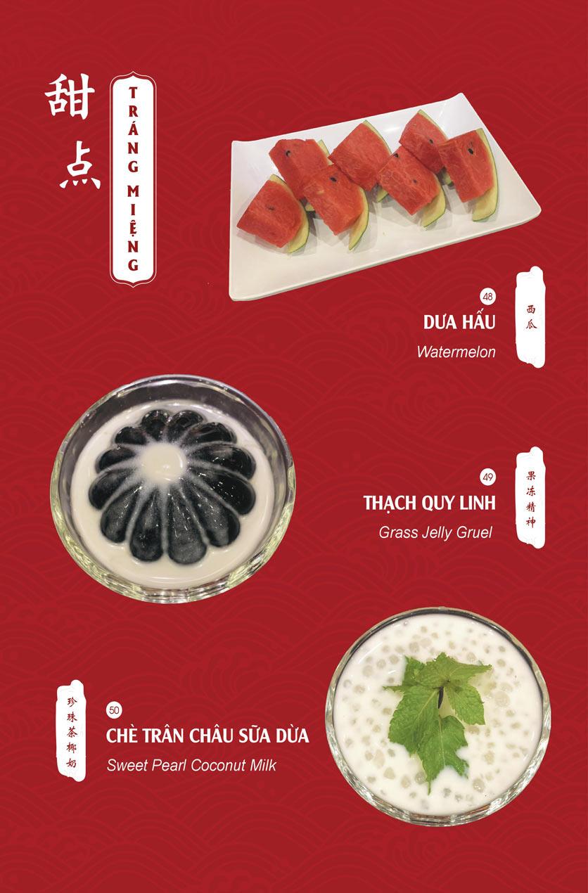Menu Hailong Yi HongKong Hotpot - Lò Đúc 21