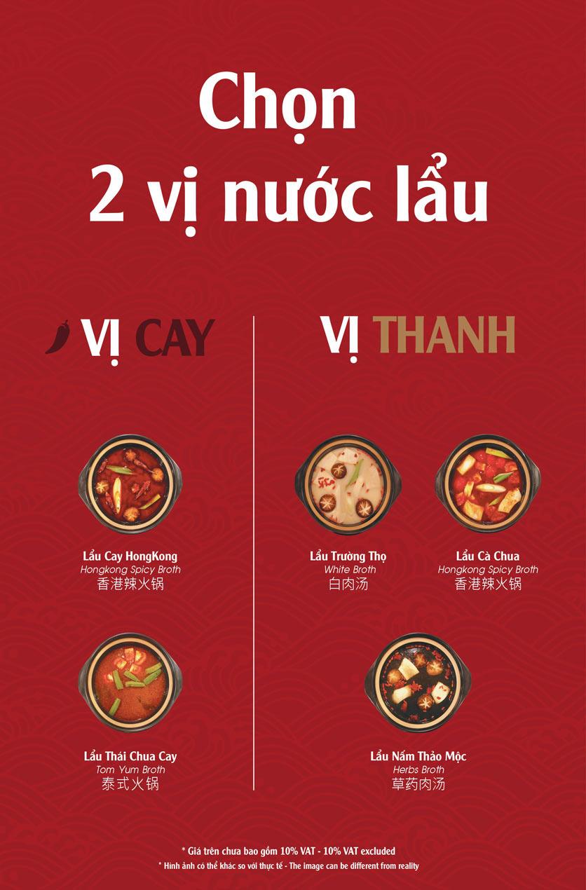 Menu Hailong Yi HongKong Hotpot - Lò Đúc 7