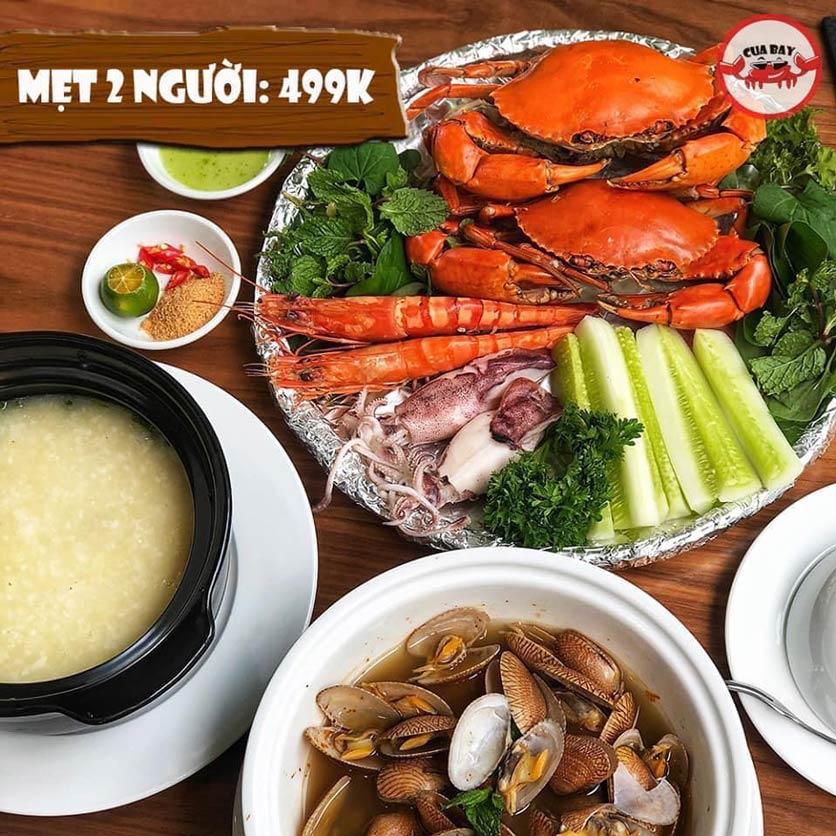 Menu Hải Sản Cua Bay - Đỗ Quang   5