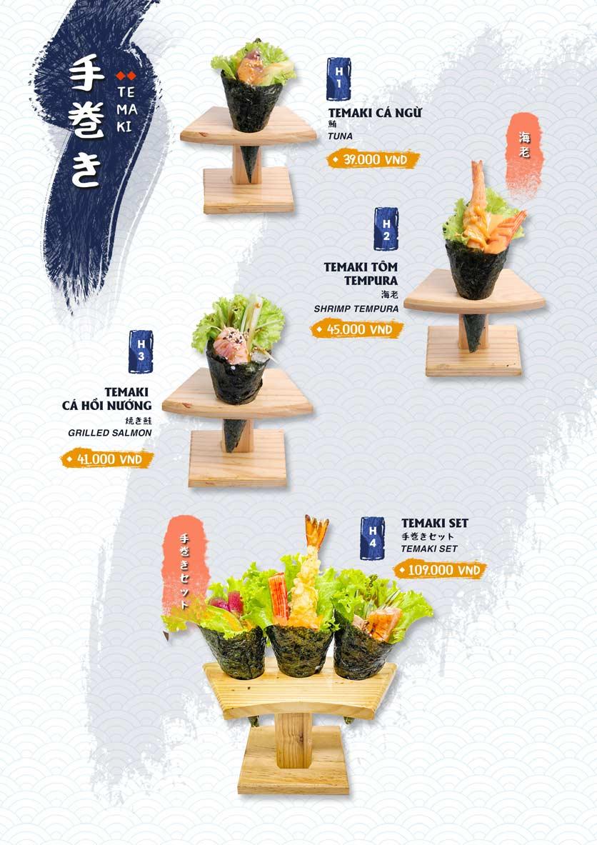 Menu Ikigai Sushi - Nguyễn Trọng Tuyển 11
