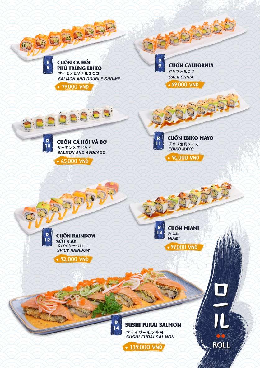 Menu Ikigai Sushi - Nguyễn Trọng Tuyển 13