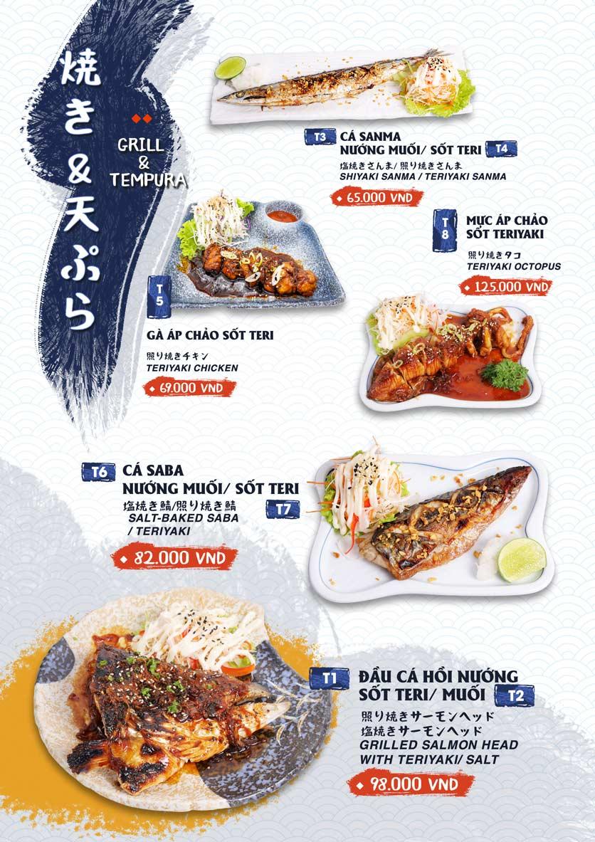 Menu Ikigai Sushi - Nguyễn Trọng Tuyển 14