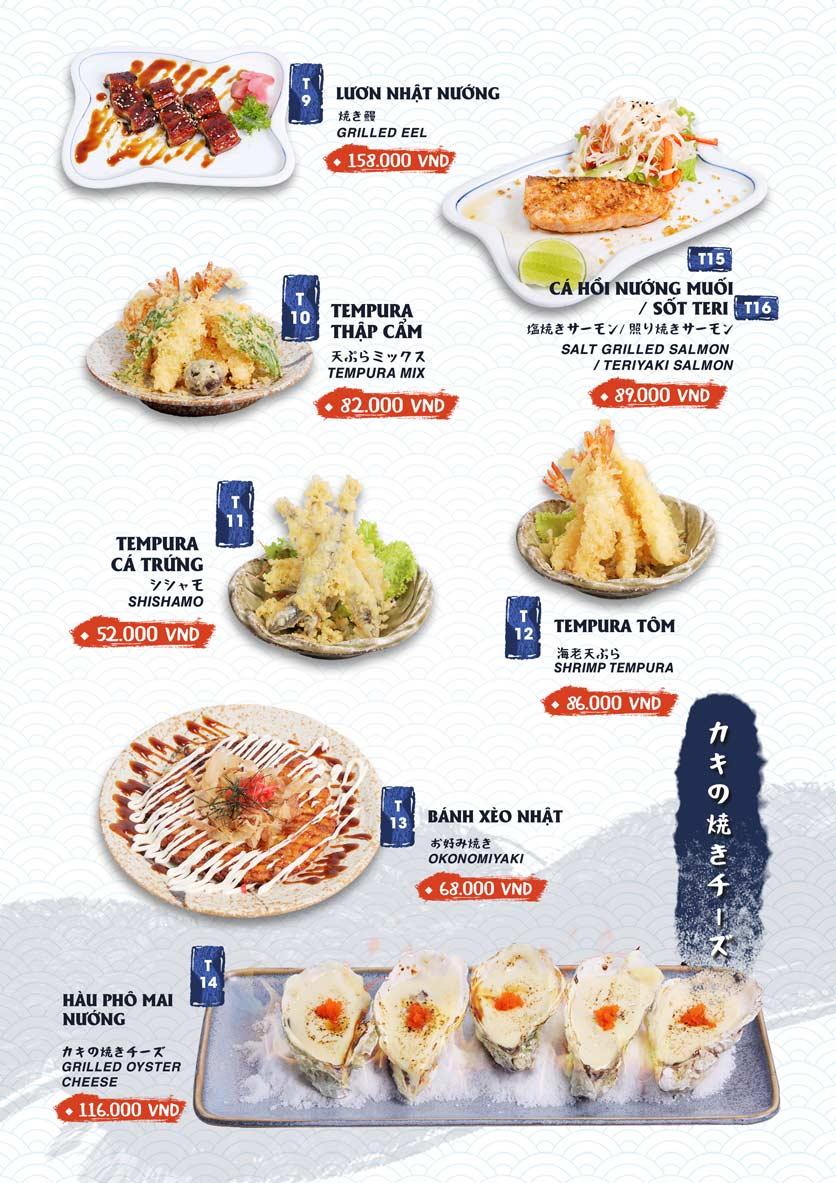 Menu Ikigai Sushi - Nguyễn Trọng Tuyển 15