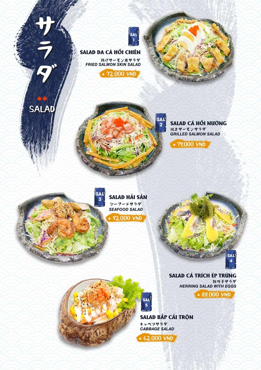Menu Ikigai Sushi - Nguyễn Trọng Tuyển 16