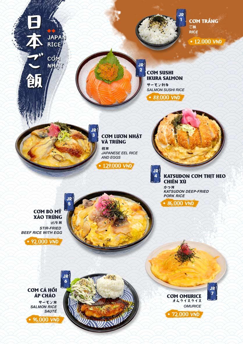 Menu Ikigai Sushi - Nguyễn Trọng Tuyển 17