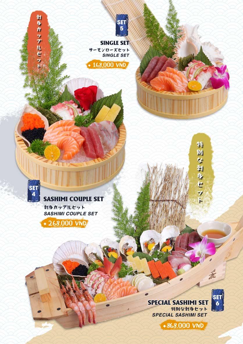 Menu Ikigai Sushi - Nguyễn Trọng Tuyển 6