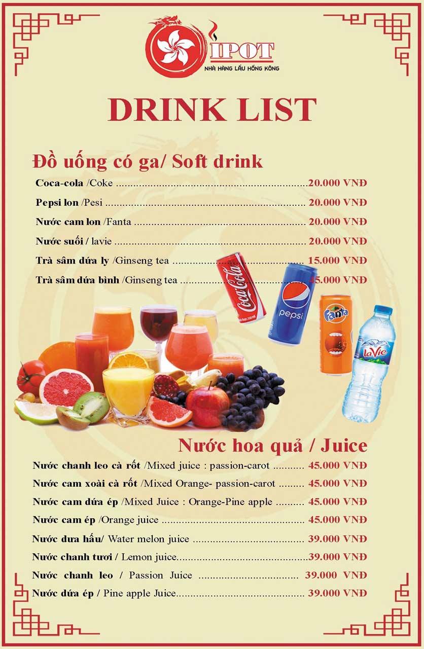 Menu IPOT - Lẩu Hồng Kông - Lotte Mart Tây Sơn 28