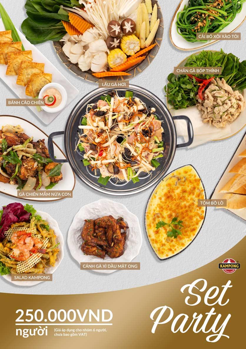 Menu Kampong Chicken House - Cơm gà Hải Nam - Lò Đúc 7