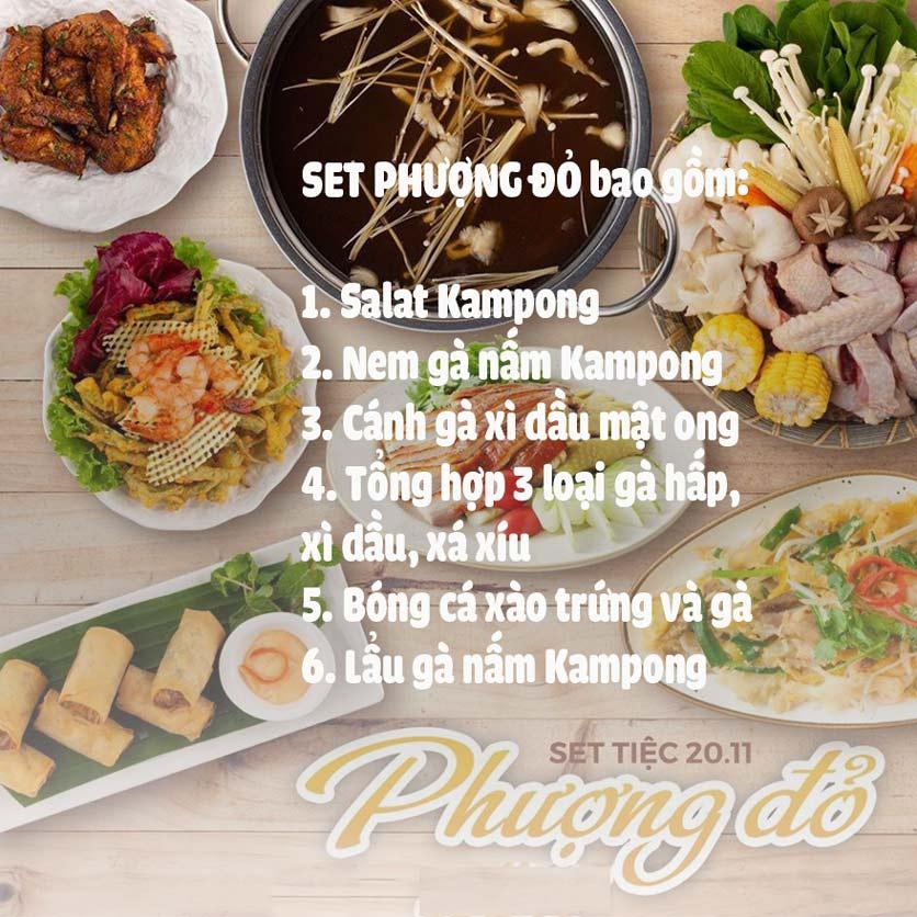 Menu Kampong Chicken House - Cơm gà Hải Nam - Lò Đúc 3
