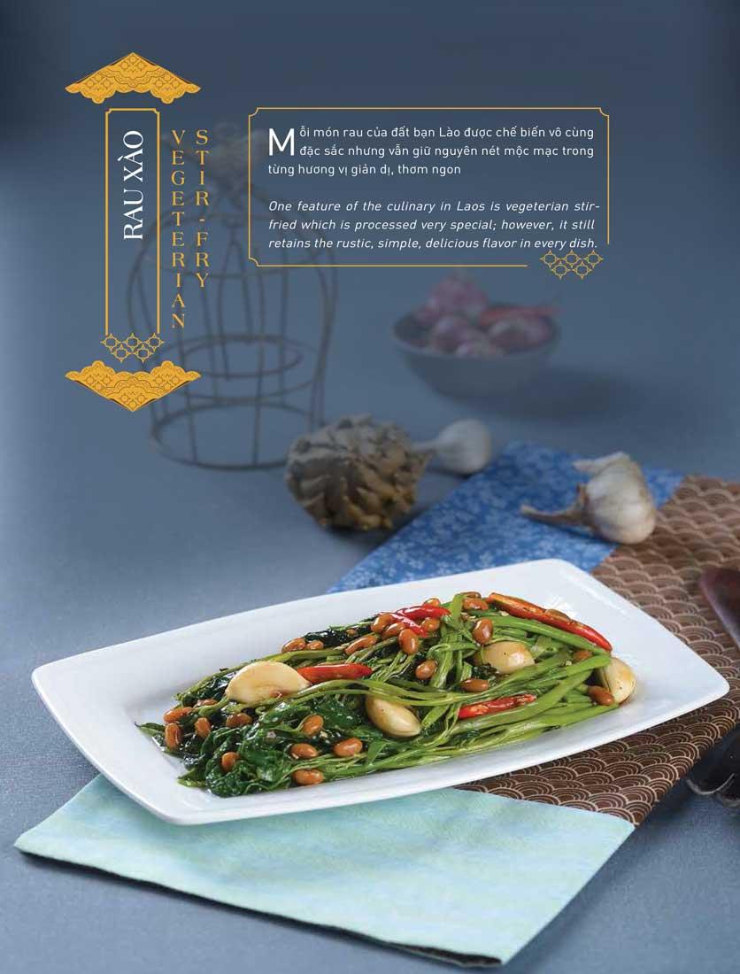 Menu Khao Lao - The Manor 14