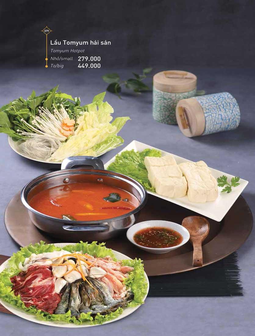 Menu Khao Lao - Duy Tân 20