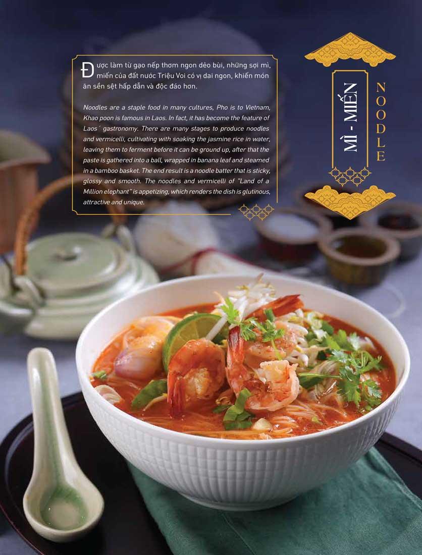 Menu Khao Lao - The Manor 22