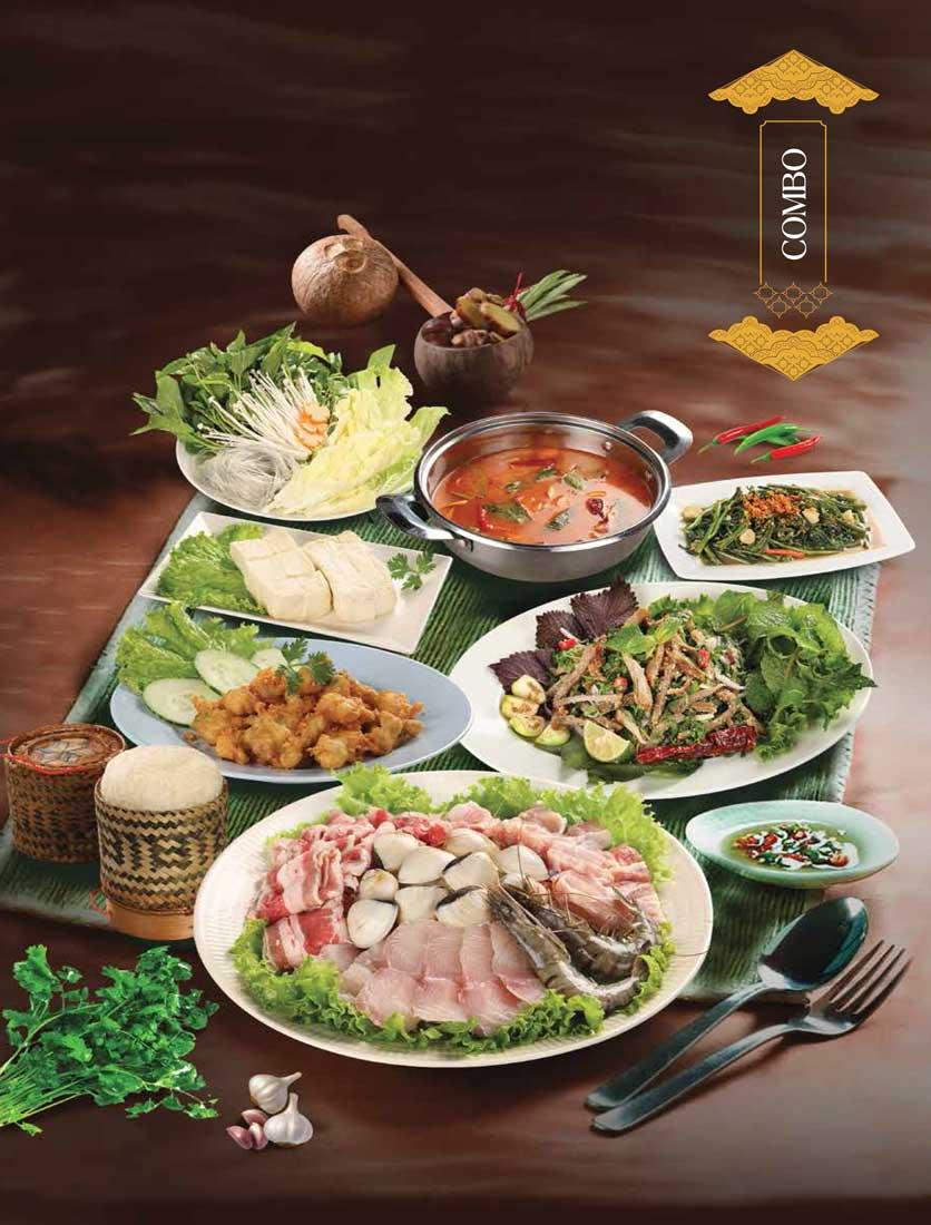 Menu Khao Lao - Duy Tân 29