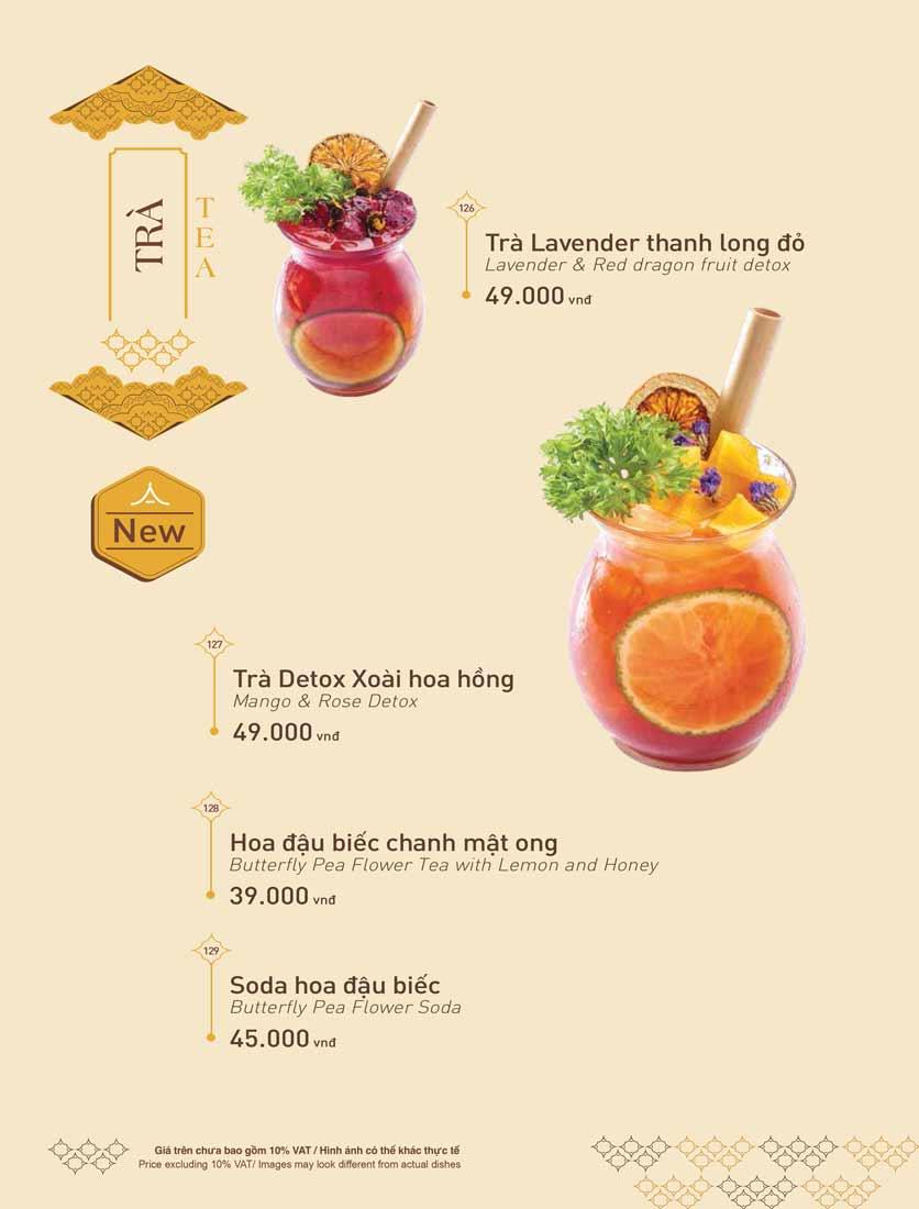 Menu Khao Lao - The Manor 38