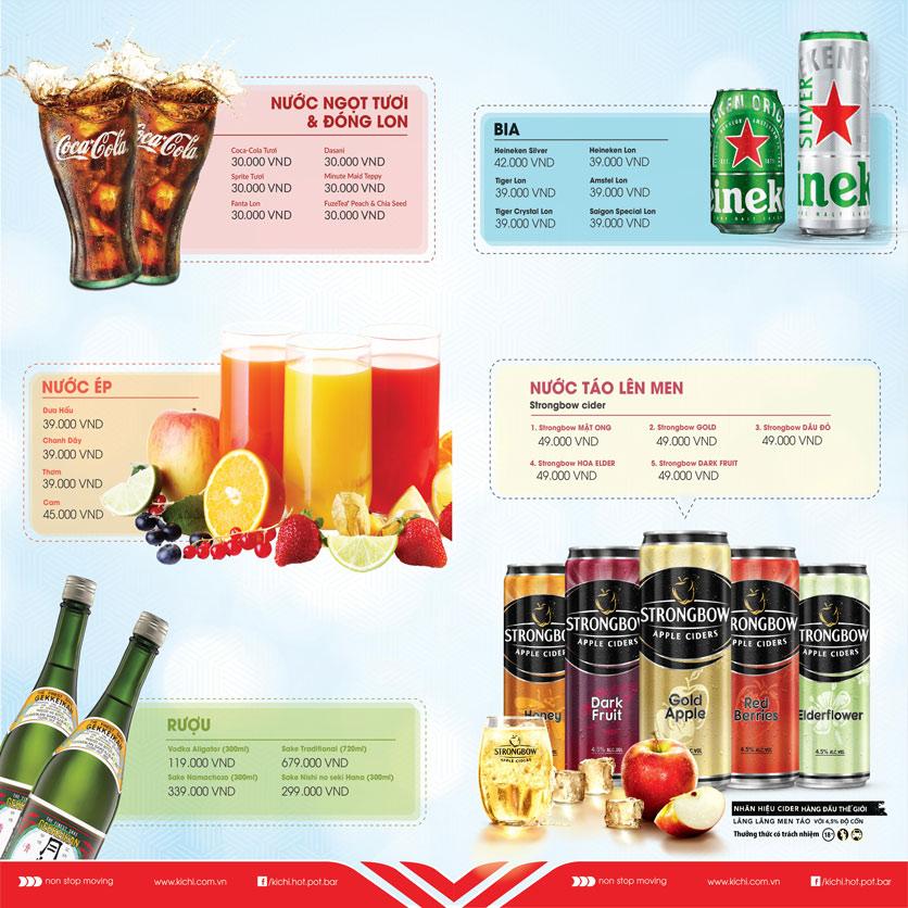 Menu Lẩu Băng Chuyền Kichi Kichi - Aeon Mall Bình Tân 4