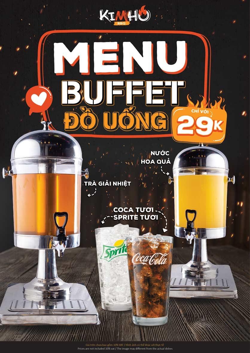 Menu KIMHO BBQ - Buffet Nướng & Lẩu – Tô Hiệu 8